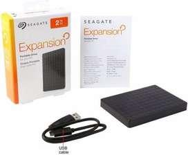 Disco  Externo Seagate  Expansion 2tb. Usb 3.0