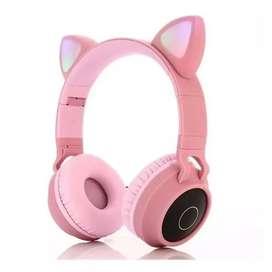 Auriculares orejas de gatito