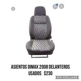 Asientos delanteros de auto  chevrolet d- max 2008