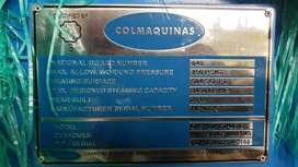 Caldera 100BHP/150 psi.   504sp ft.  3450lb/hr