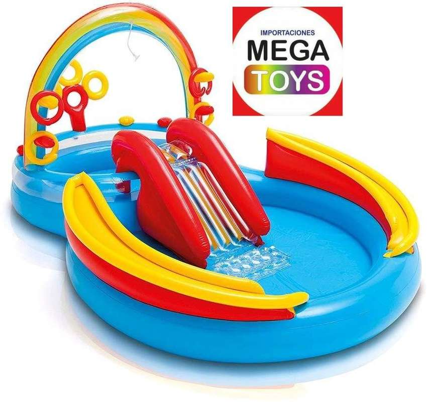 PISCINA INFLABLE ARCOIRIS 0