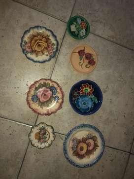 Platos de porcelana antiguos