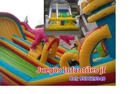 ALQUILER DE JUEGOS INFANTILES, INFLABLES
