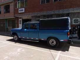 Ganga Camioneta doble cabina 1 tonelada