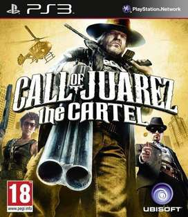Call of Juarez The Cartel para PS3 Solo Venta, NUEVO y Sellado