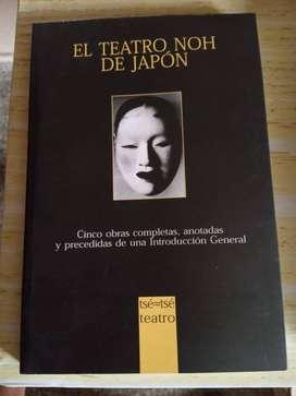 El teatro Noh de Japón. Editorial tse-tse teatro