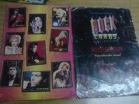 album de figuritas rock card