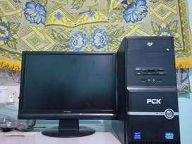 Torre y monitorde escritorio i3 2120