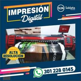 Impresión digital Alta Resolución