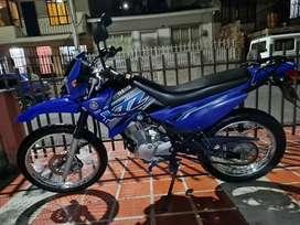 Vendí yamaha xtz125 azul modelo 2020