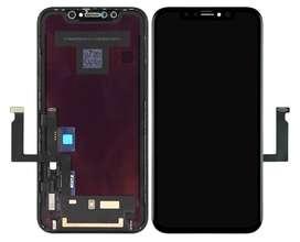 pantalla iphone XR instalado con garantía de tienda