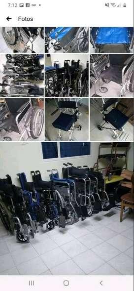 Se venden sillas de ruedas en perfecto estado
