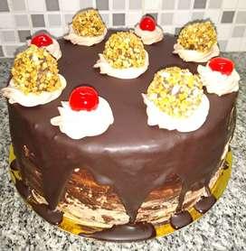 Bizcochuelo de vainilla o chocolate tortas