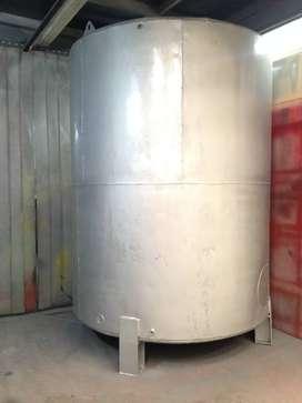 Tanque vertical en AC para agua o combustible