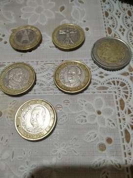 Q ofrecen x estas monedas!!! Euros.