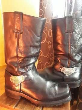 Botas,zapatos,texana,cuero,marca Sancho