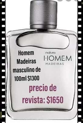 Perfume homem Natura masculino de 100ml