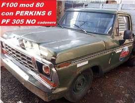 FORD F100 1980 C/PERKINS 6