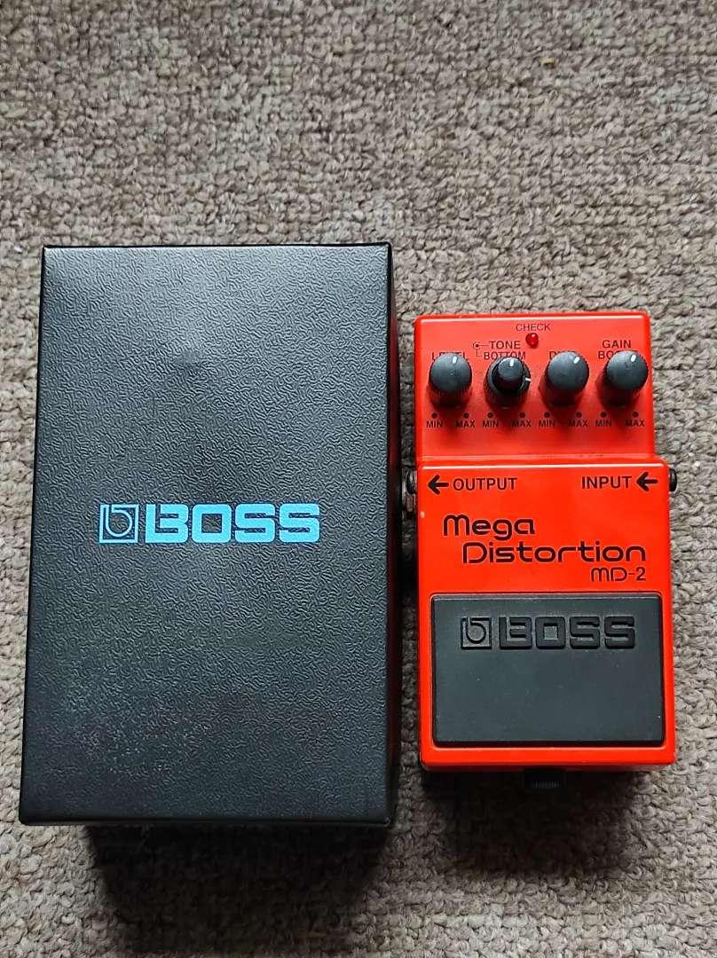 Boss Mega Distortion s/ 350 0