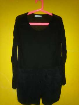 Sweater ZARA duo con camisa interior muy fino divino