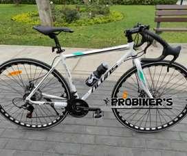 Bicicleta semi carrera aro 700c