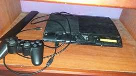 Vendo ps3 Programada 40 Juegos 500G