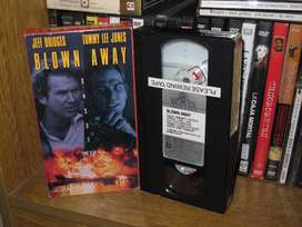 Lluvia de fuego (Blown Away) - 1994 VHS - Tommy Lee Jones