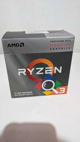 Micro Procesador Ryzen 3 3200g 4.0ghz Amd Am4 Graficos Vega