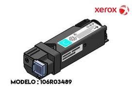 TONER XEROX 106R03489 CYAN METERED 6510 / 6515 Rendimiento: 2400 págs