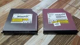 Unidad quemadora de DVD interna para portátil.