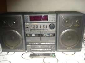 Minicomponente Sony Hcdh50 O Fhb50cd C/ctrl Rem A Revisar