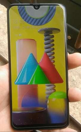 Samsung A30 Como nuevo con cargador funda y templado