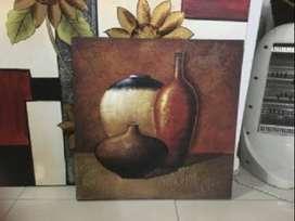 Liquido 6 cuadros mas Mesa ratonera desplegable +Mueble patinado + otos articulos decoracion