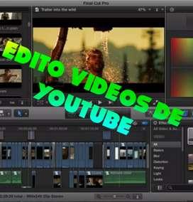 Edito videos de videos y fotos