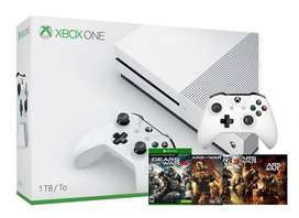 Xbox One S 1tb Gears Of War 4 + 3 Juegos Extra + 2 Controles