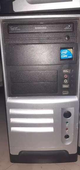 Cpu Hp core i3, I5, I7 disco 500, memoria 4gb, multigrabador