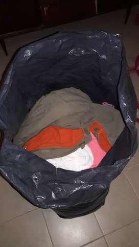 Bolson de ropa de nena