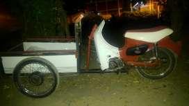 Moto Triciclo En Exelente Estado