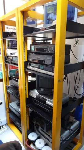 Servicio de Copiado Cintas A Usb DVD CD Bogota Convertir Vhs Beta a digital BOGOTA NORTE