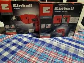 Taladros nuevos marca Einhell de 550w