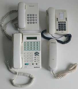 Lote 4 teléfonos ideal revendedores técnicos - Marikondeando