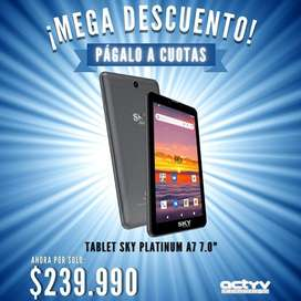 "Tablet SKY Platinum A7 7"" Doble SIM Card"