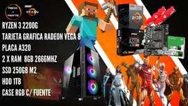 PACK AMD Ryzen 3 2200g