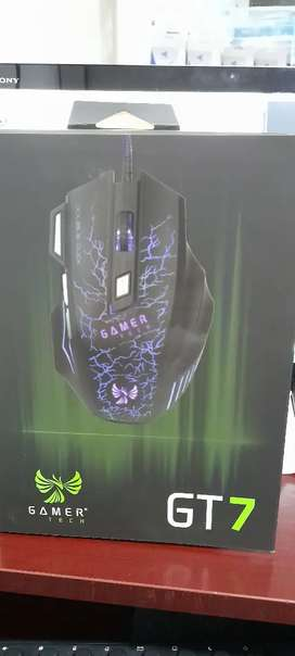 Mouse USB gamer tech gt7