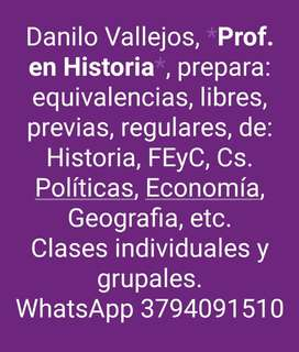 Prof en Historia