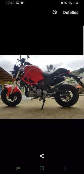 MOTO-  MOTOR 1 DIAVOLO PASSOLA