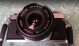 Lente 50 mm y 24mm 1.8 Zuiko Japonés + Camara Olympus OM1