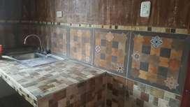 Se renta mini depa con baño y cocina en el 1er piso en ochoa leon para pareja
