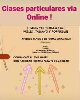 clases online de idiomas