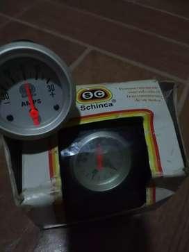 2 relojes temperatura y aceite schinca sport